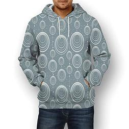 Coaballa 3D Print,Geometric,Hoodies for Men