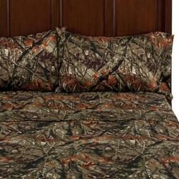 Mainstays Microfiber Sheet Set, Camo - QUEEN