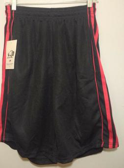 American Legend Outfitters Men's Mesh Shorts Size M Black W/