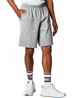 Champion Men's Shorts Pockets Authentic Cotton 9-Inch Gym Wo