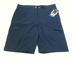 BC Clothing Men's Expedition Casual Shorts, Color: Teal