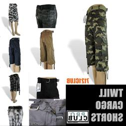 PRO CLUB CARGO SHORTS MEN PROCLUB CAMO COMBAT BDU SHORT LONG
