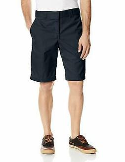 Dickies Men's 11 Inch Relaxed-Fit Stretch-Twill Work Short