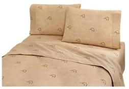 Ducks Unlimited Plaid Sheet Set - King Size