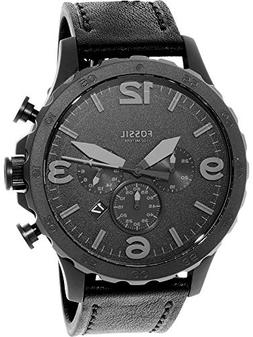 Fossil Men's JR1354 Nate Stainless Steel Chronograph Watch w