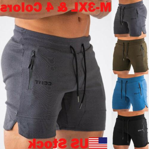 2019 men casual shorts gym training running