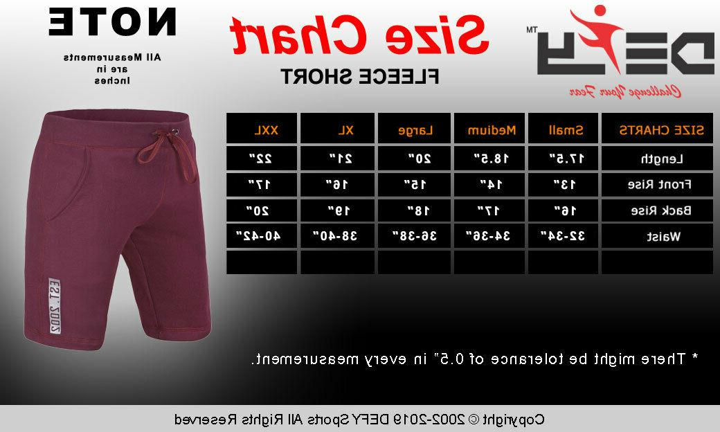 Fit Fleece Shorts Gym Fitness Exercise