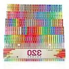 Aen Art Gel Pens 160 Colored Gel Pen Set with 160 Refills Gi