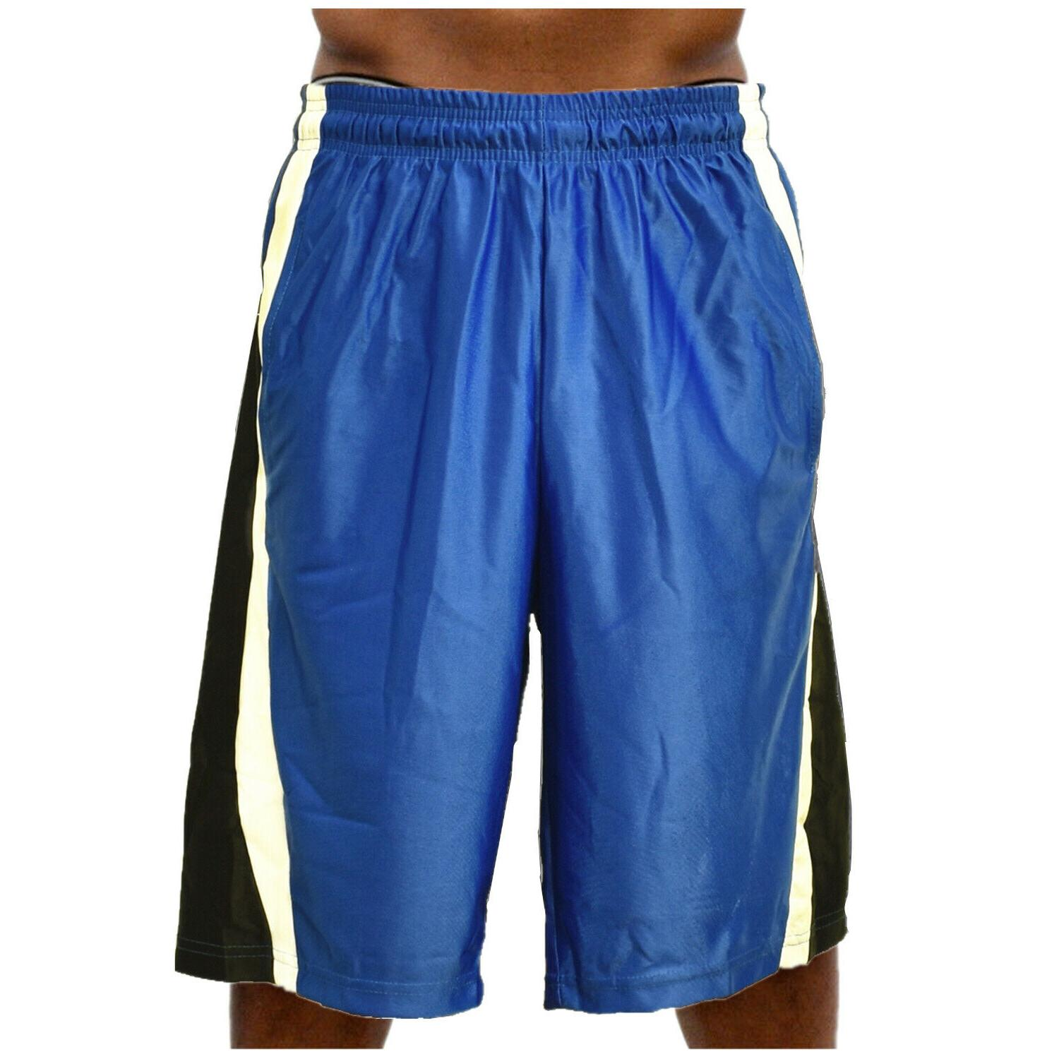 Men Basketball Heavy Mesh Quick-Dry Gym Workout Running w/2