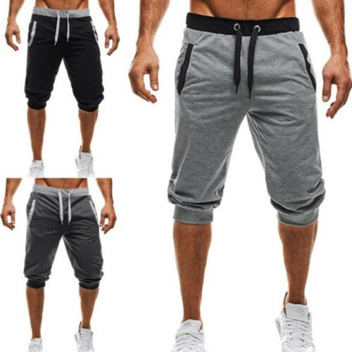 Men GYM Shorts Running Jogging