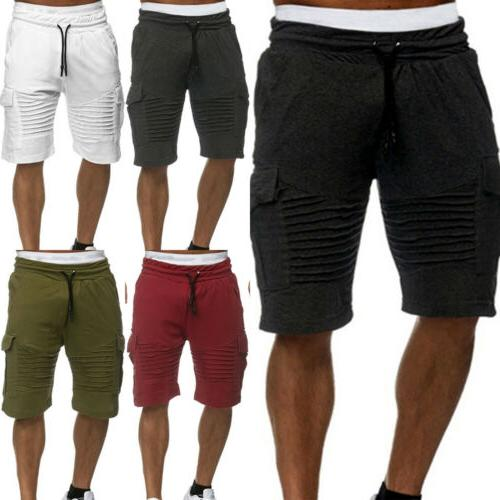 Men Shorts Training Running Workout Jogging Pants Trouser