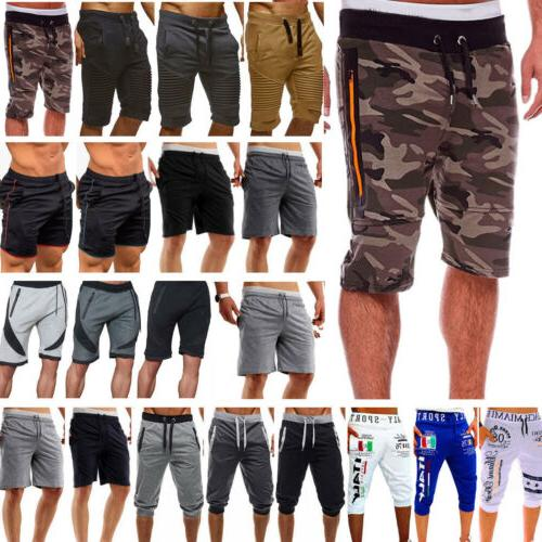 Men GYM Shorts Running Workout Jogging