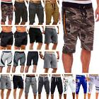 Men's Cargo Shorts Chino Trousers Gym Fitness Jogging Sports