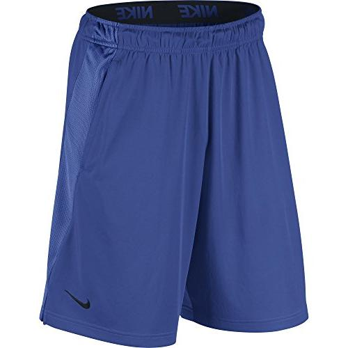 men s dry training shorts game royal