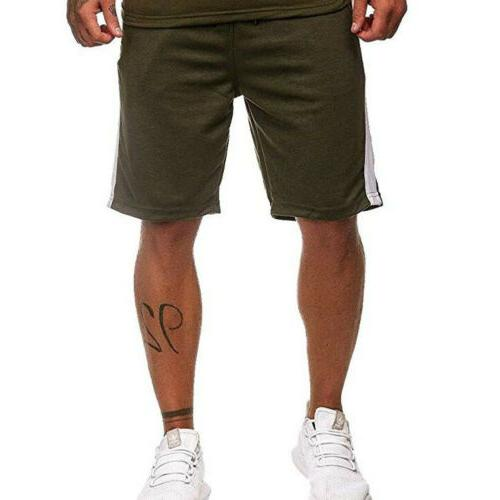 Men's Gym Training Shorts Workout Sports Clothing Fitness Running