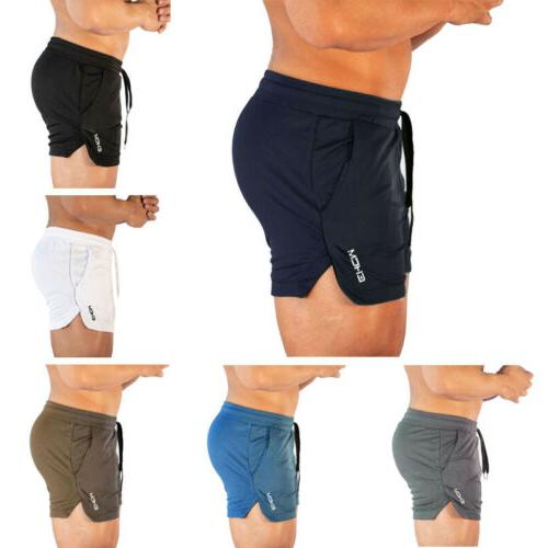 Men's Training Shorts Workout Casual Clothing Fitness