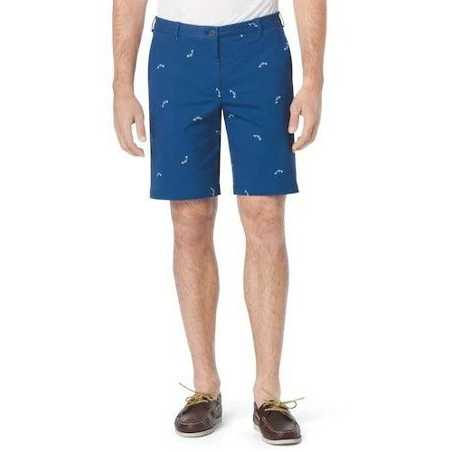 Men's IZOD Saltwater Beachtown Classic-Fit Printed Stretch S