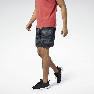 men s workout ready graphic shorts