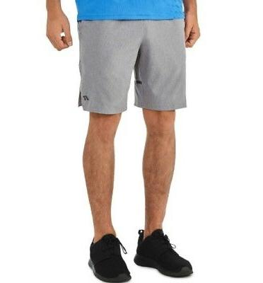 MEN'S RUSSELL ATHLETIC WOVEN TECH SHORTS W/ POCKETS - GRAY -