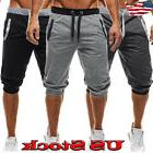Men Summer Casual Gym Sport Shorts Lace Up Sweat Tracksuit P