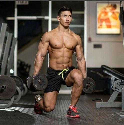 Mens Gym Training Workout Sports Fitness Short