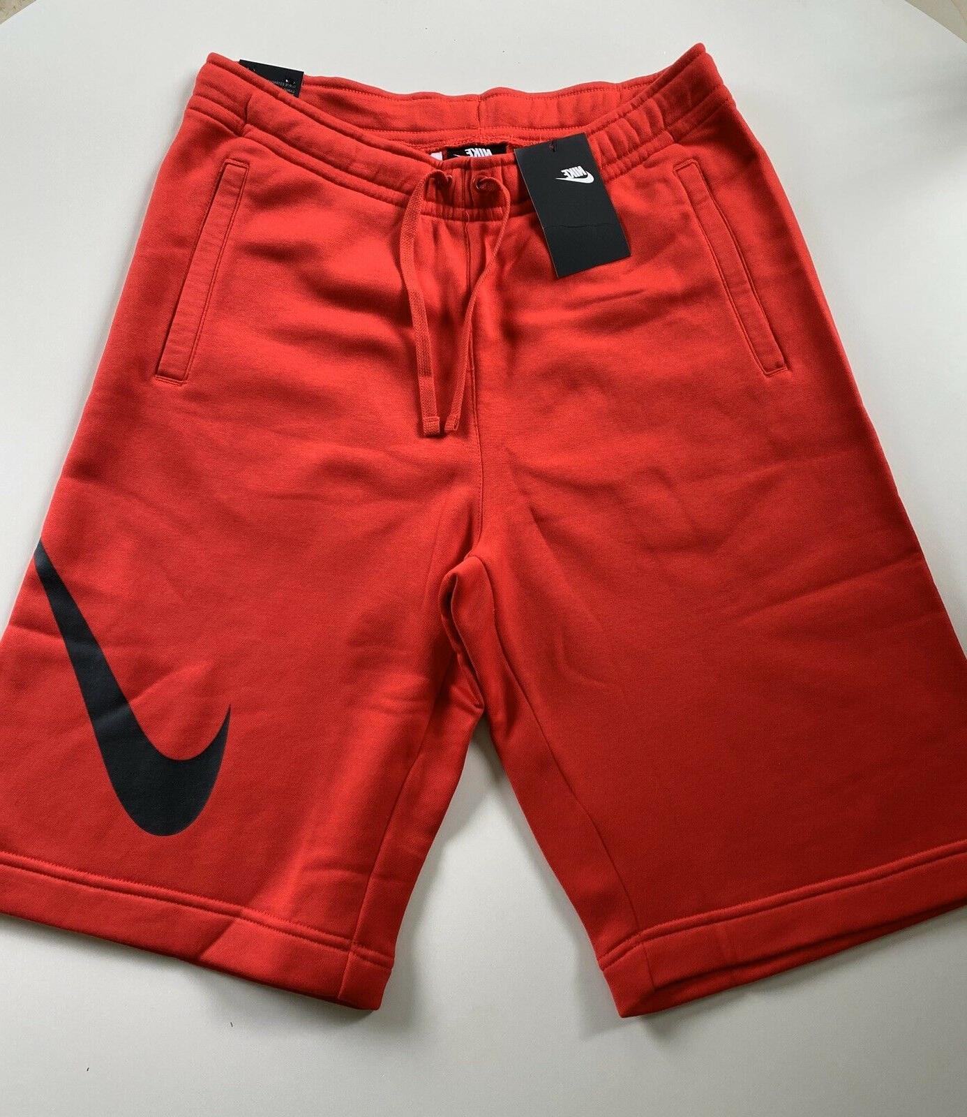 Nike Shorts Red-