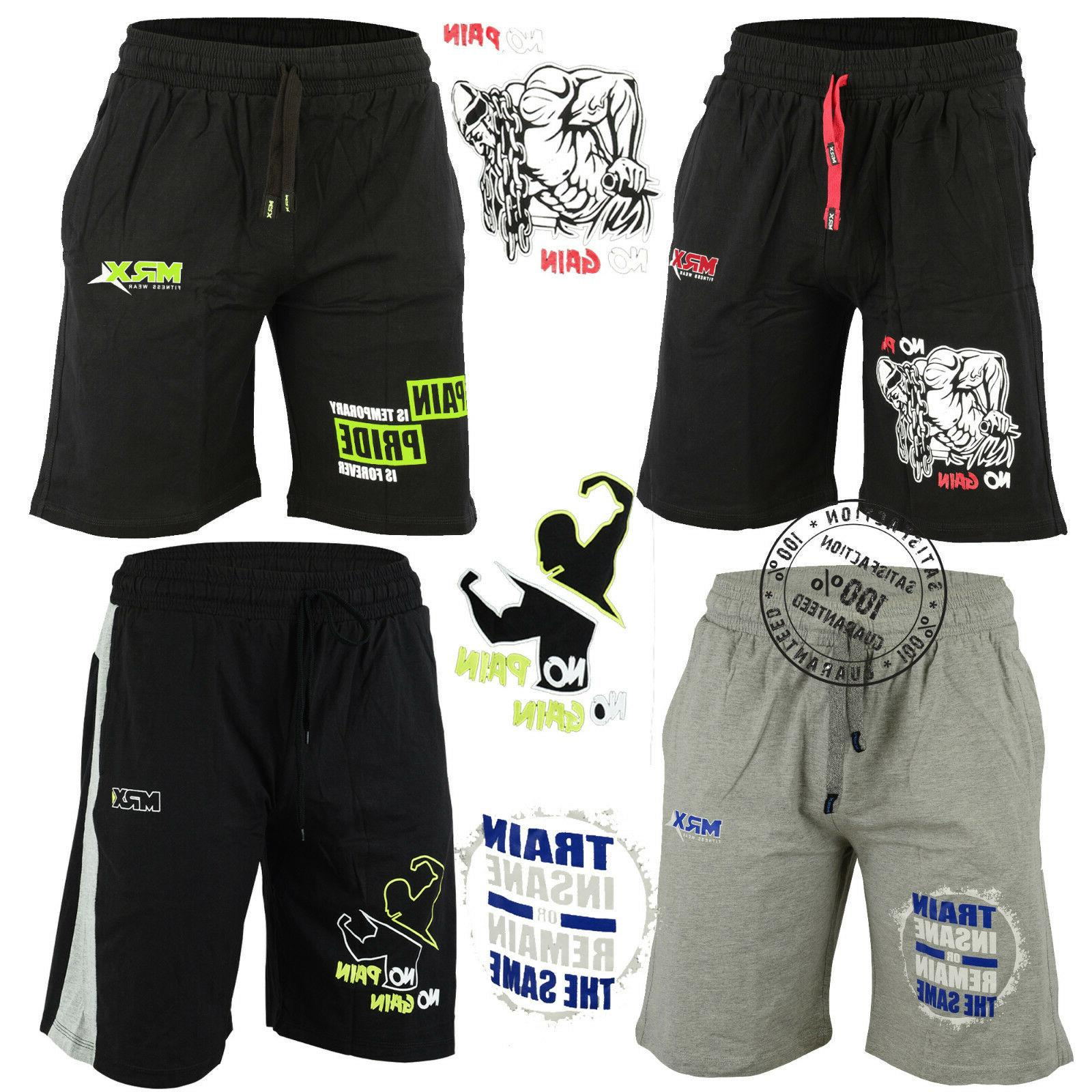 mens wear gym fitness workout shorts running