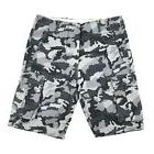 New Levi's Men's 34 Relaxed Fit Ace Cargo Shorts Black Camo