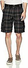 New Lee Men's Dungarees Belted Wyoming Cargo Shorts Size 38