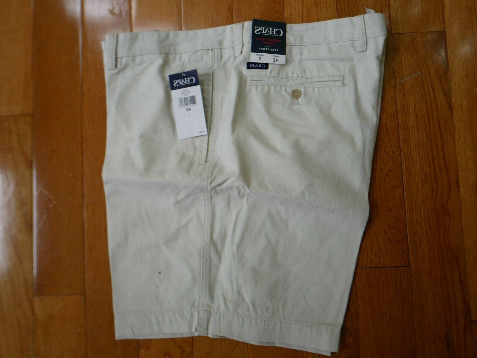 Izod Saltwater Relaxed Classic Shorts Flat Front Men's 40 42