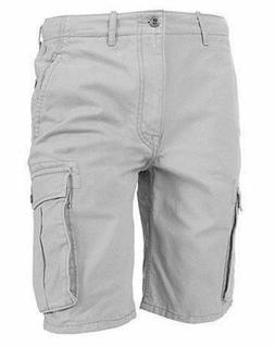 Levi's Men's Premium Cotton Ace Twill Cargo Shorts Relaxed F
