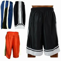 Men Basketball Shorts Heavy Mesh Quick-Dry Gym Sport Workout