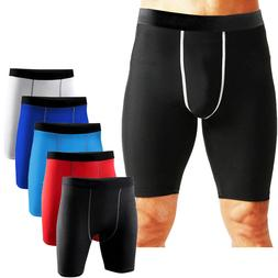Men Compression Fitness Shorts Gym Workout Sports Running Sh