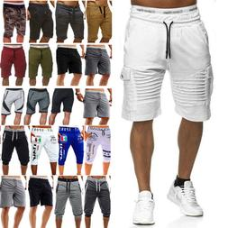 men gym shorts training running sport workout