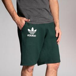 NEW Adidas Men's ADC F Trefoil Shorts Green LARGE Comfortabl