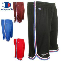 Champion Men's Athletic Mesh Pocket Striped Gym Basketball S