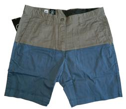 Volcom Men's Baden Short Casual Walk shorts Pewter Mushroom