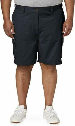 Amazon Essentials Men's Big & Tall Cargo Short, Navy, 54