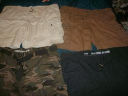 Men's Big & Tall Mossimo CARGO Shorts sizes 42,46,48,50,52,5