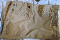Dockers Men's Big & Tall Cargo Shorts Khaki Beige Size 50 MS