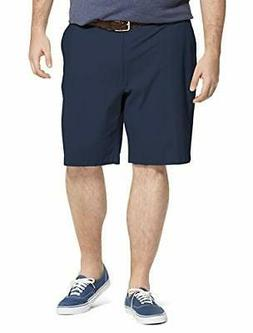 """IZOD Men's Big and Tall Saltwater 9.5"""" Flat Front  - Choose"""