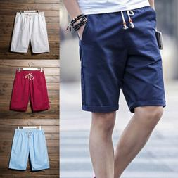 Men's Casual Short Pants Gym Fitness jogging Running Sports