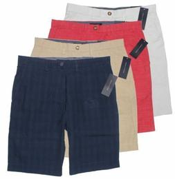 Tommy Hilfiger Men's Classic Fit Flat Front Shorts