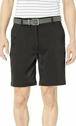 Amazon Essentials Men's Classic fit Stretch Golf Shorts, Bla