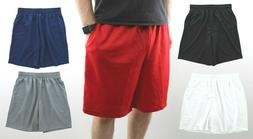 Men's Gym Basketball Shorts Athletic Workout Active Mesh Sho