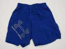 Under Armour Men's HeatGear Woven Graphic Shorts - Royal Big