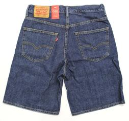 Men's Levi's 550 Relaxed Fit Blue Jean Shorts  Dark Wash
