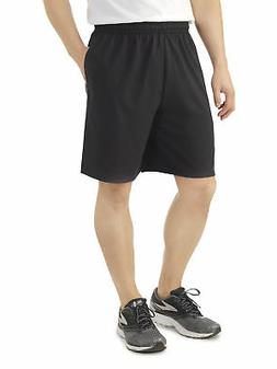 Fruit of the Loom Men's Platinum Jersey Shorts with Side Poc