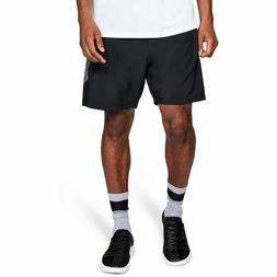 Under Armour Men's Qualifier 9'' Woven Graphics Shorts Brand