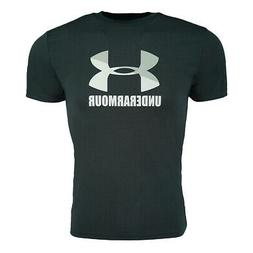 Under Armour Men's Fitted Tech Short Sleeve Logo T-Shirt